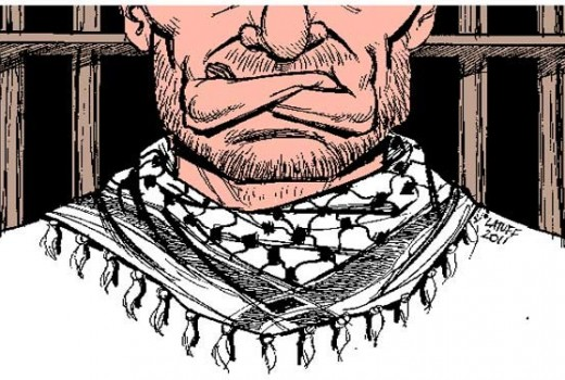 "Nearly all Palestinian captives in Israeli prison stage a 1-day hunger strike in solidarity with ""administrative detention"" inmates."